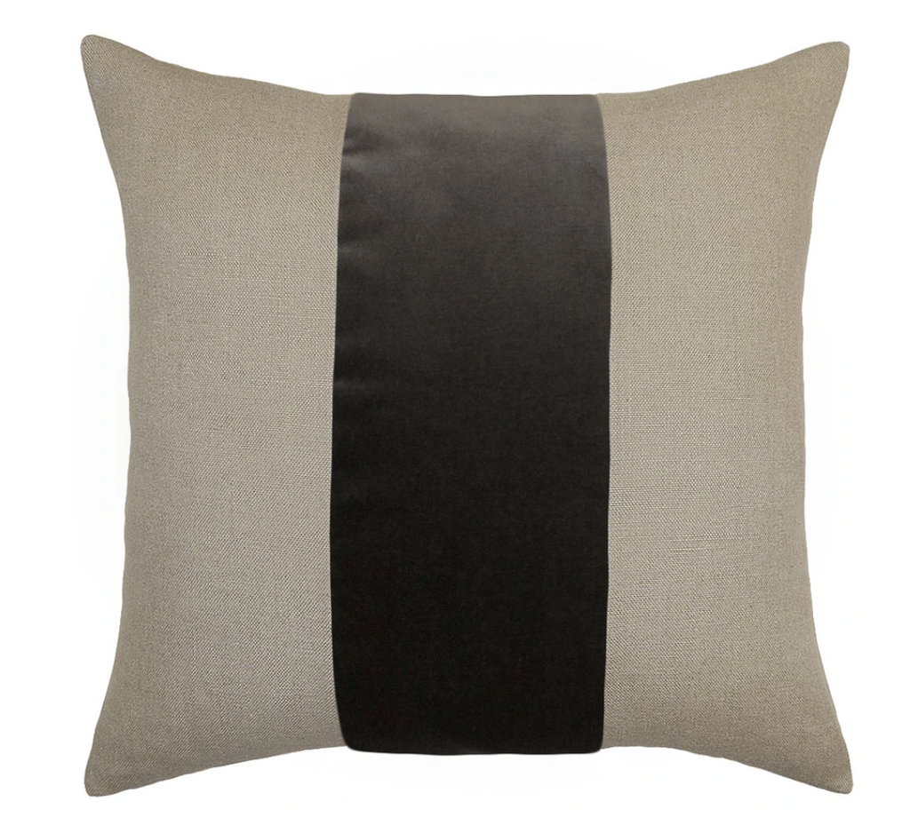 Ming Linen Metal Pillow