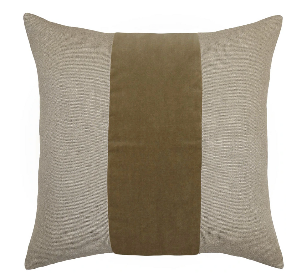 Ming Linen Earth Pillow