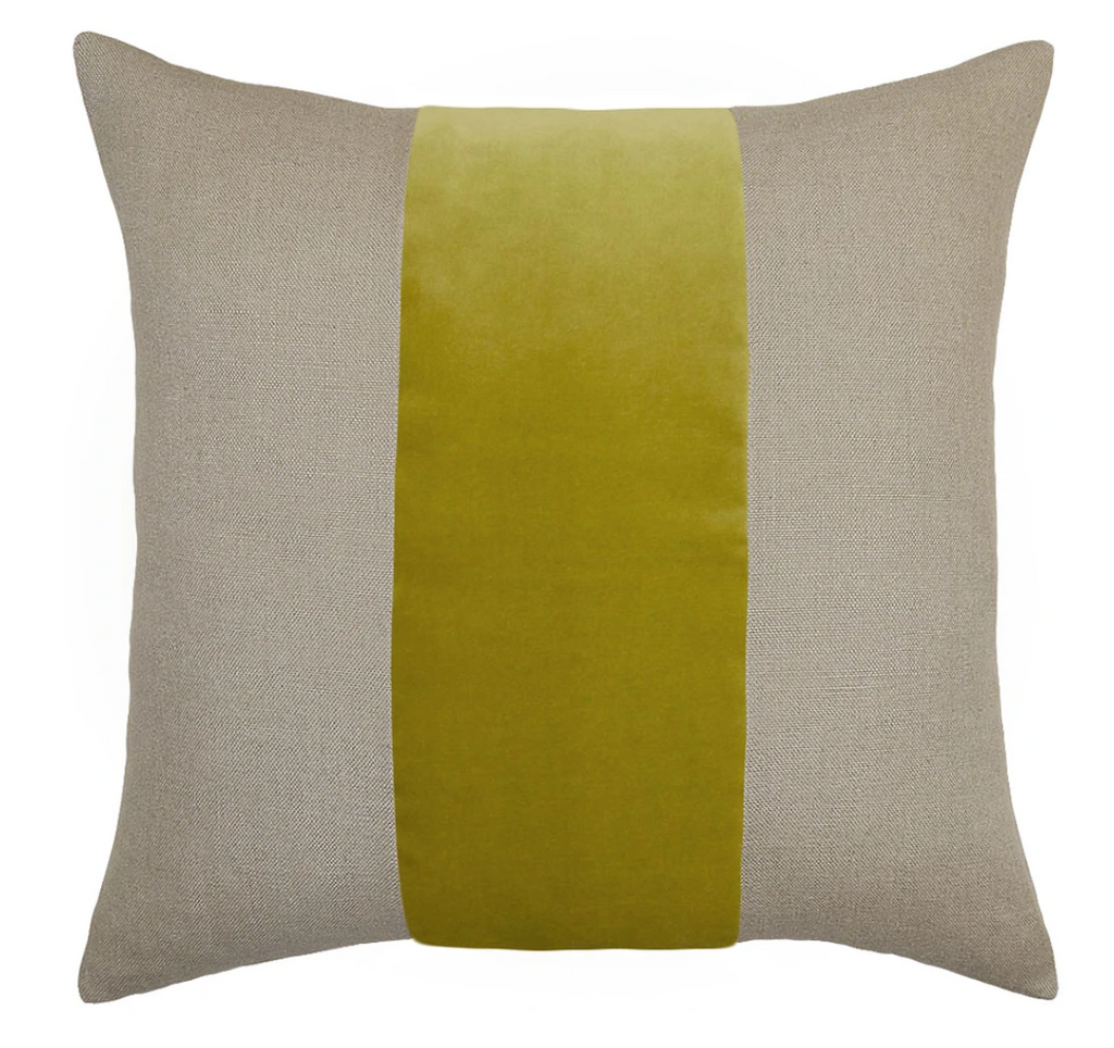 Ming Linen Wasabi Pillow