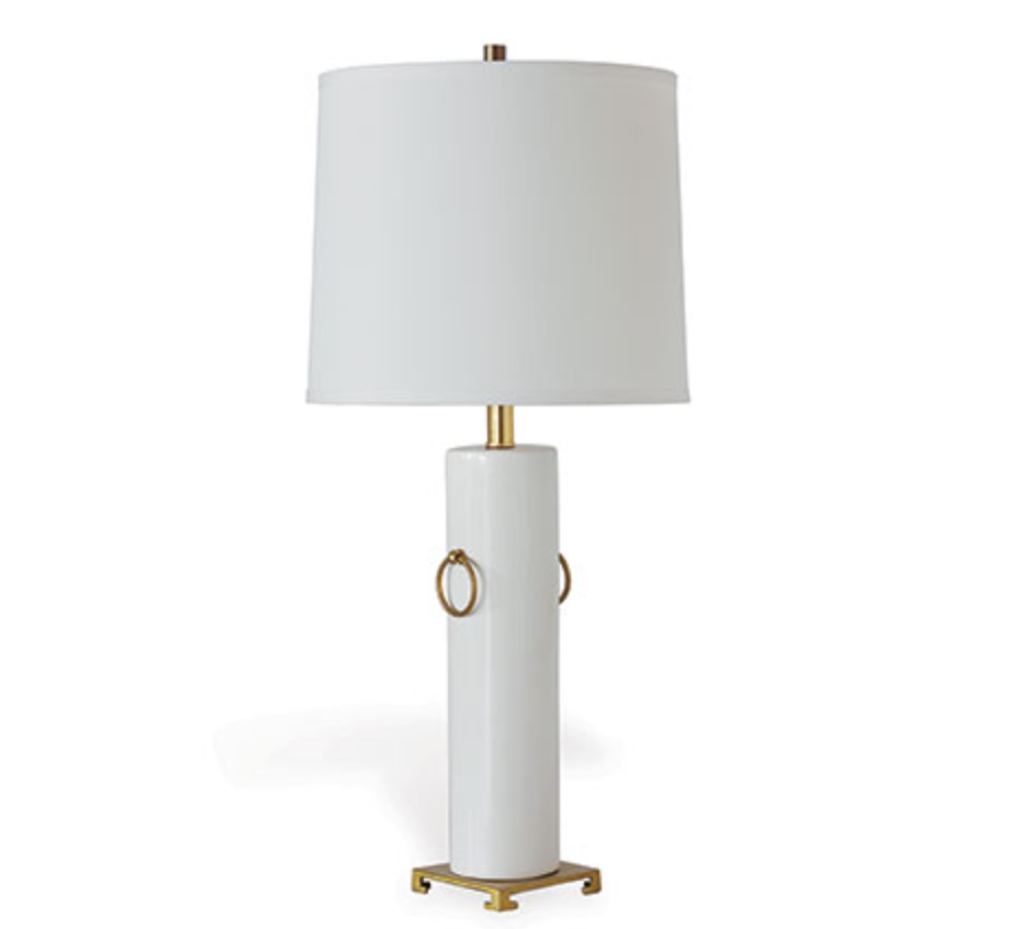 Beverly Lamp in Cream