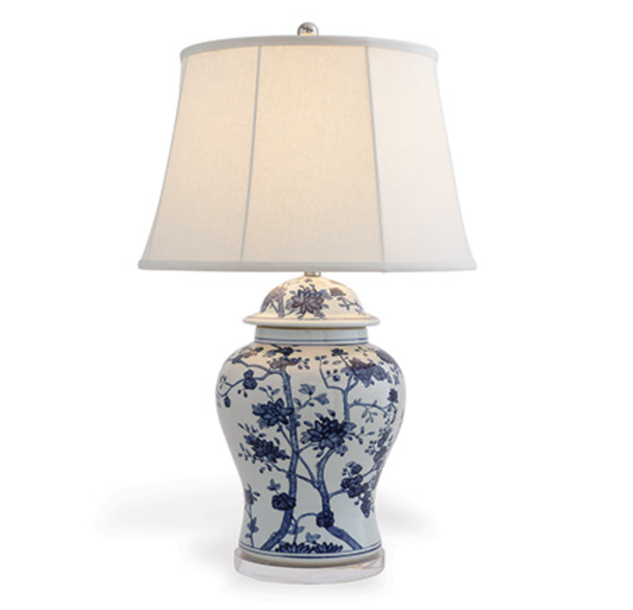 Georgia Blue Lamp