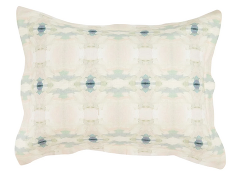 Coral Bay Pale Blue Lumbar Pillow
