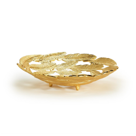 Gold Leaf Large Bowl