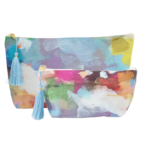 Indigo Girl Cosmetic Bag