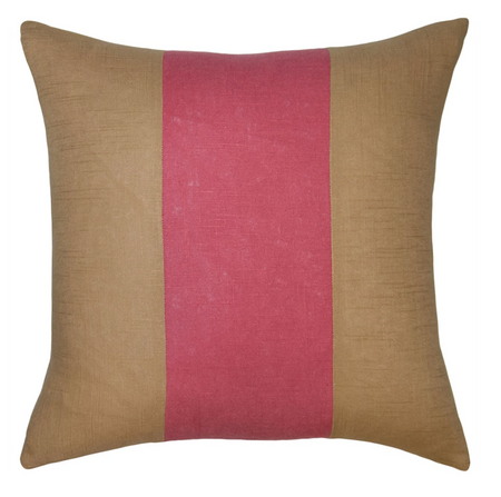Savvy Hue Gold with Rose Pillow