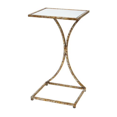 Kathryn Champagne Gold Tray Table
