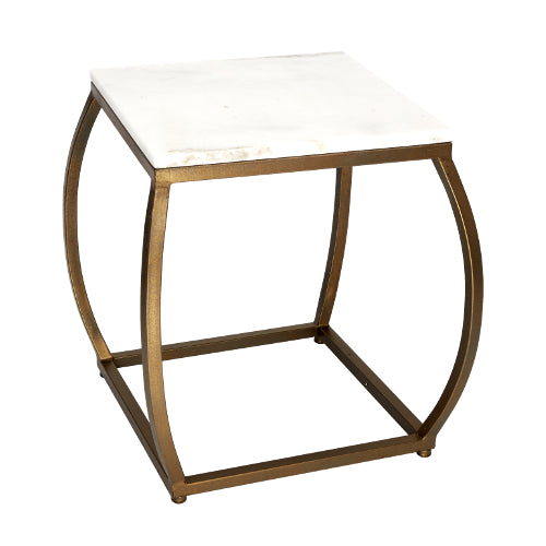 Jacob Bronze Metal Accent Table