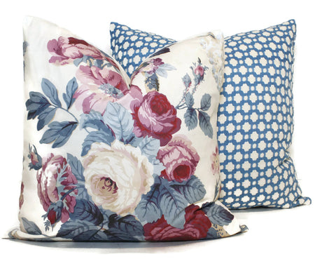 Vogue Chintz Pillow