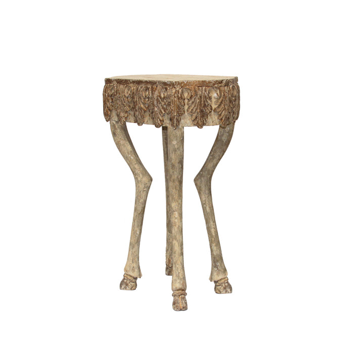 Stag Leg Accent Table