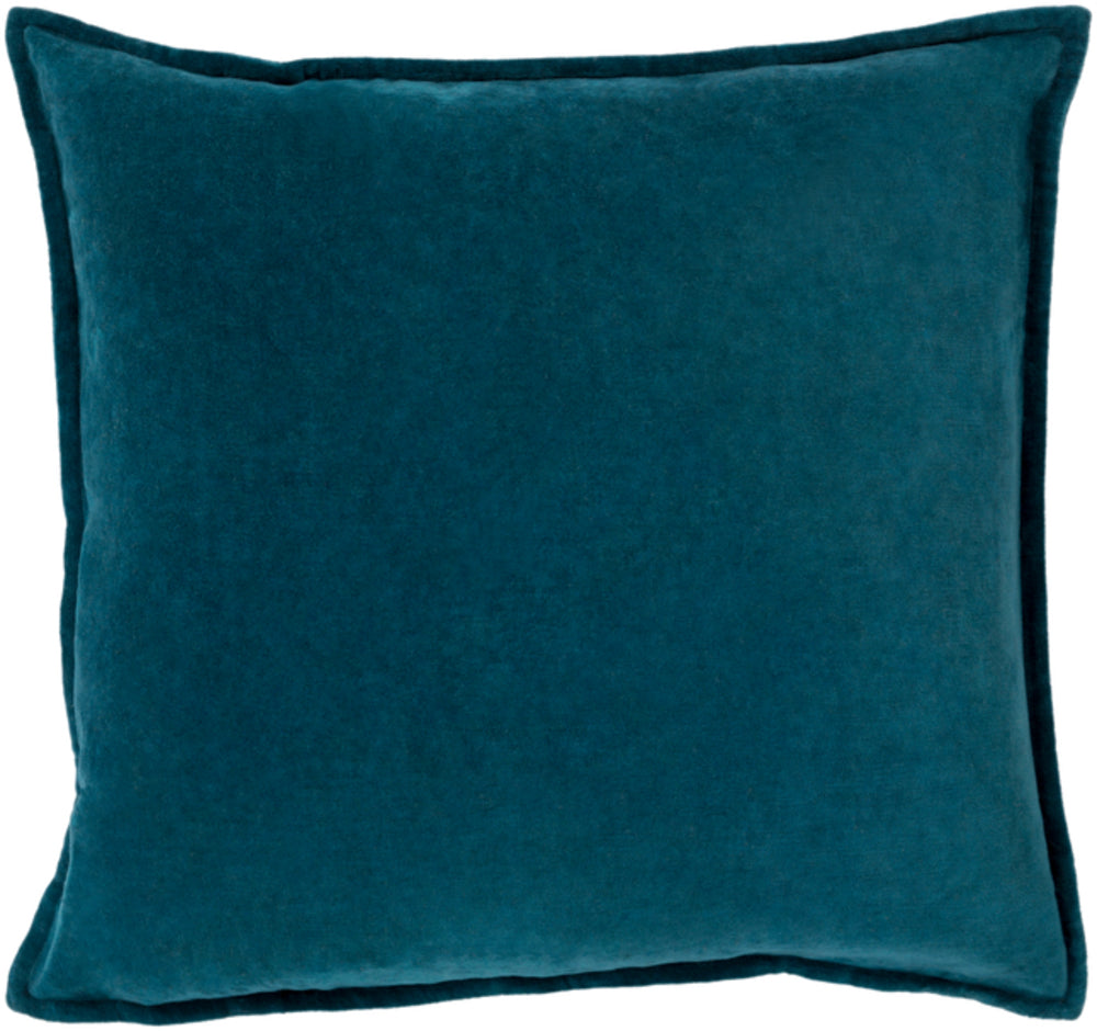 Cotton Velvet in Teal