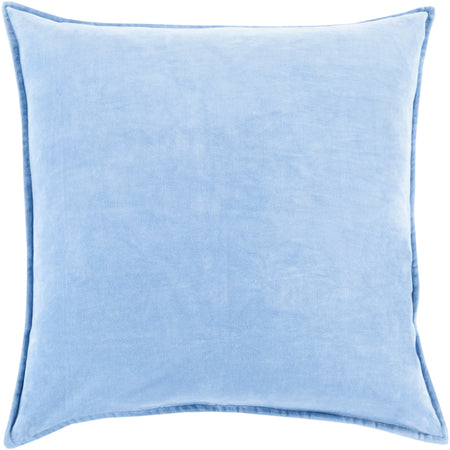 Cotton Velvet in Bright Blue