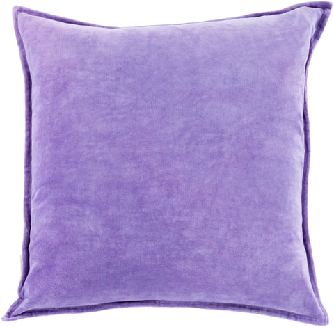 Cotton Velvet in Violet