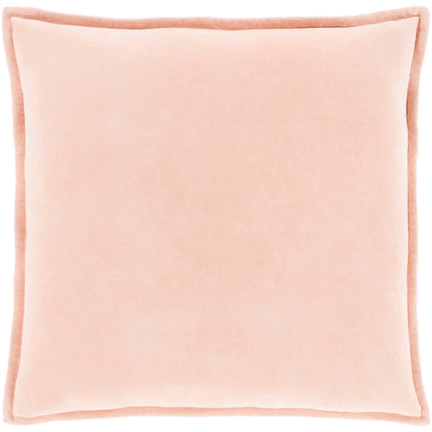 Cotton Velvet in Peach