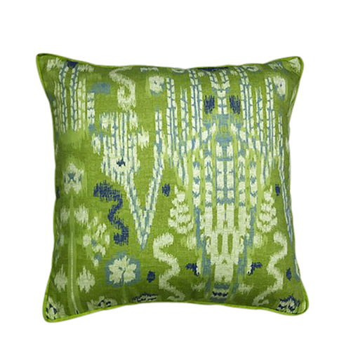 Large IKAT Herb with Gusset