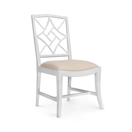 Evelyn Side Chair in White