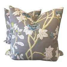 Quadrille Happy Garden Custom Pillow