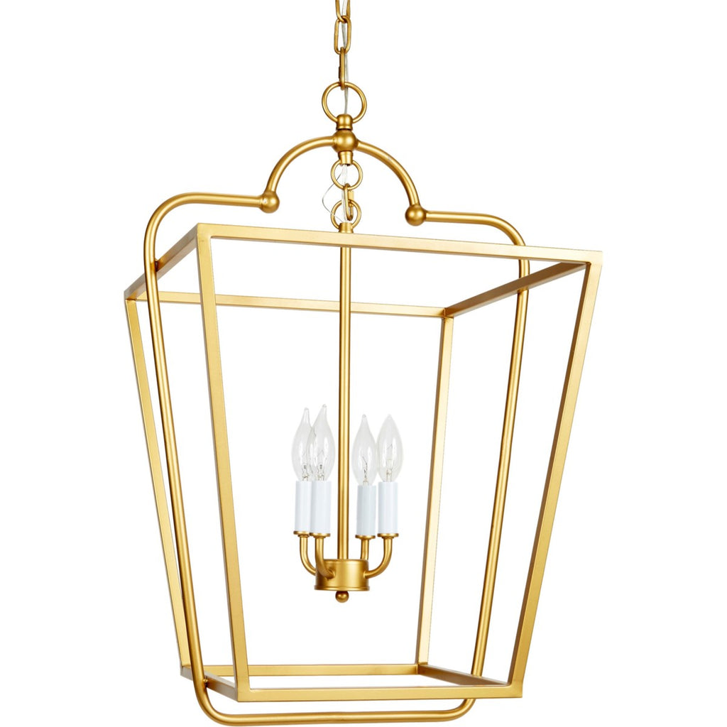 Eleanor Transitional Gold Lantern