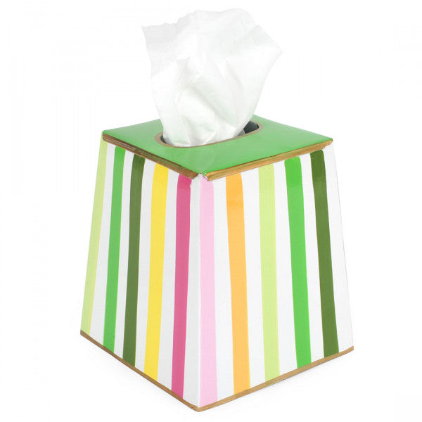 Bayshore Multi Color Tissue Box Cover