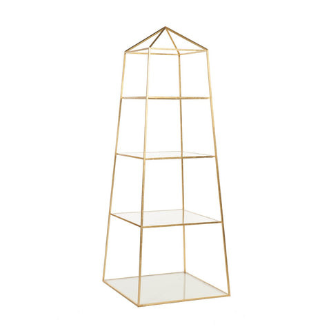 Piper Gold Etagere