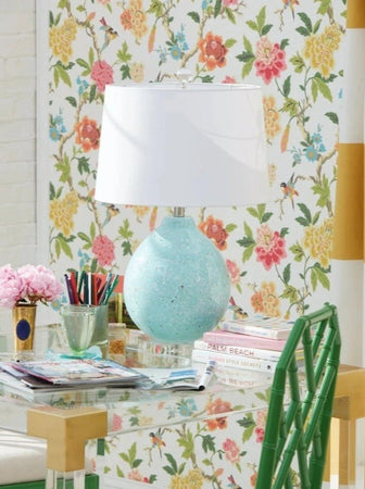 Tilly Green Table Lamp