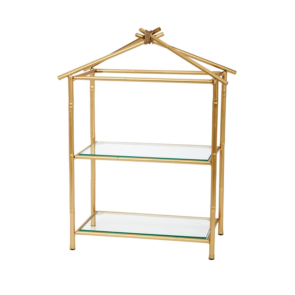 Gold Bamboo Tabletop Display