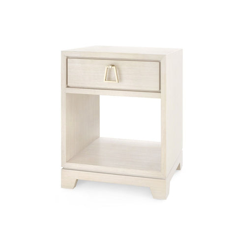 Stanford 1 Drawer Side Table (Blanched Oak)