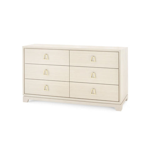 Stanford Extra Large 6 Drawer (Blanched Oak)