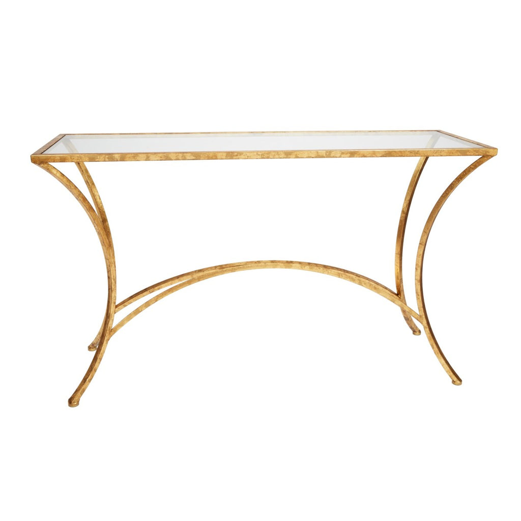 Julian Gold Leaf Console