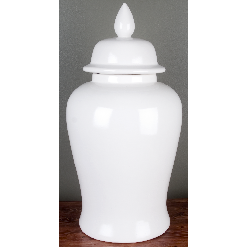 Well-liked Large White Ginger Jar – ME Home XR77