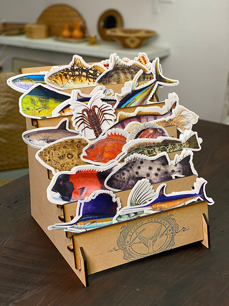 wholesale fish stickers