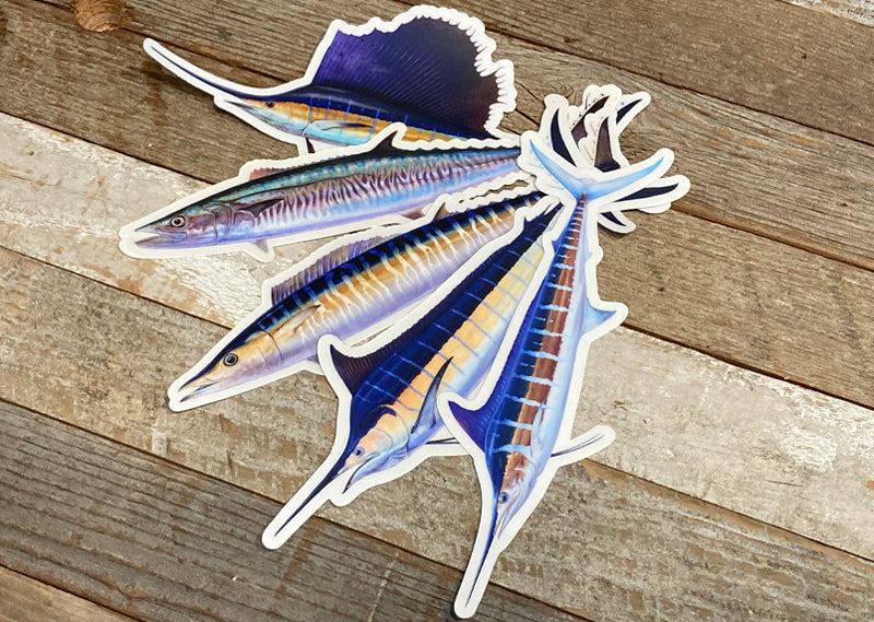 Pelagic sticker pack 1 (SP)