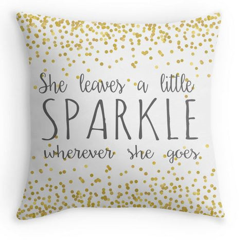 Girl Nursery Pillow