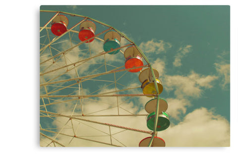 Ferris Wheel Wall Canvas Art