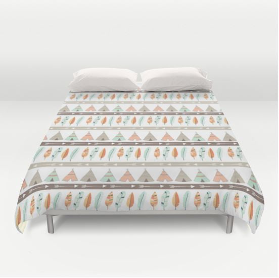 teepee bedding