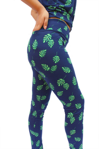 Urban Leaf Fitness Leggings