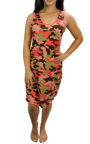Blush Camo Cozy Night Gown