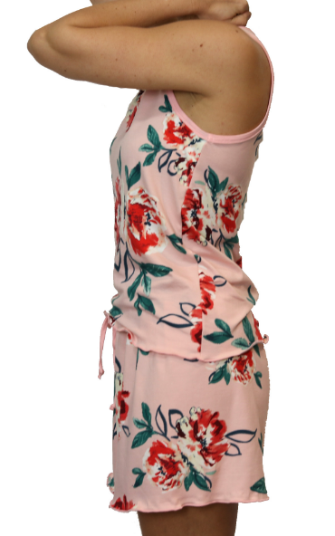Blush Bouquet Cozy Pajama Boxer Set