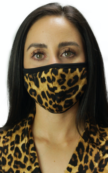 Cozy Leopard Mask