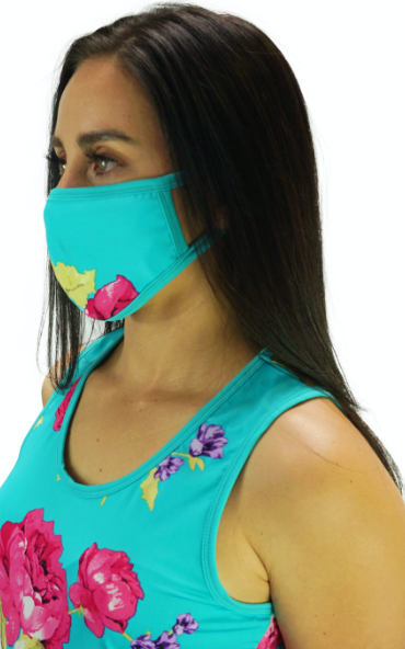 Enchanted Teal Mask