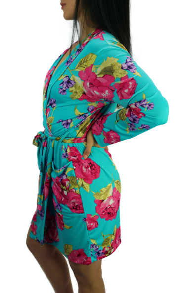 Enchanted Teal Slinky Cooling Robe II