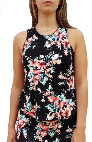 Floral Fitness Tank Top