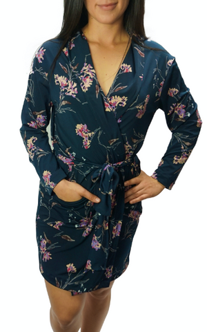 Forest Bouquet Slinky Cooling Robe II