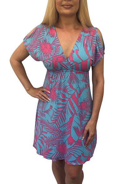 Sky Tropic Athena Dress