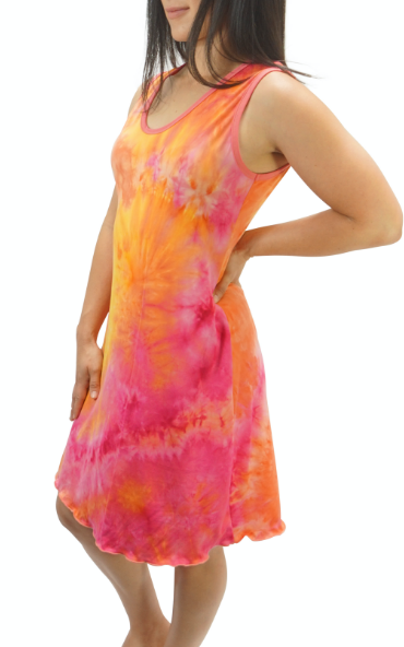 Popsicle Cream Tye Dye Cozy Night Gown