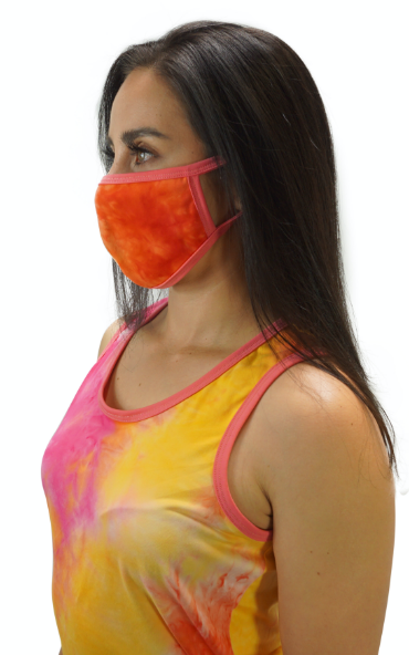 Popsicle Cream Tye Dye Mask