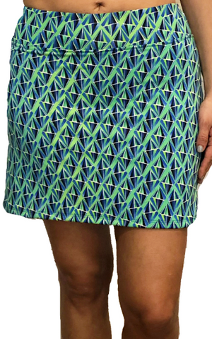 Green Crush Fitness Skort
