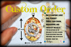 Custom Order - Large Oval