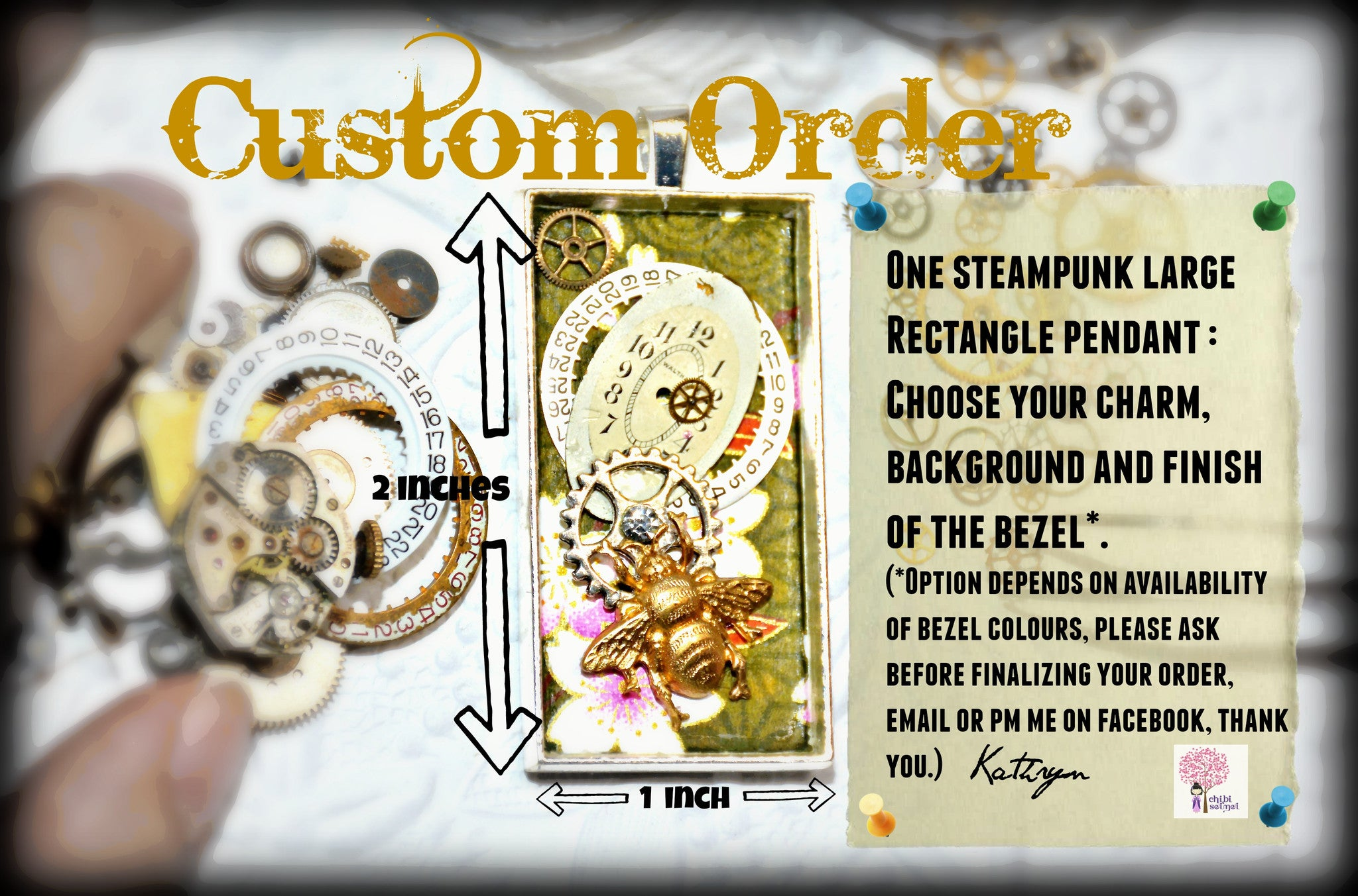Custom Order - Large Rectangle