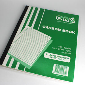 GNS Carbon Book Duplicate Carbonless