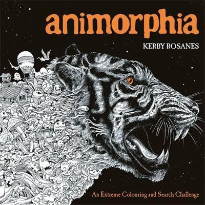 Animorphia - Adult Colouring Book